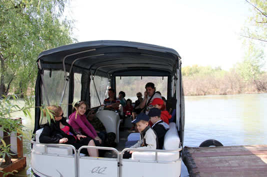 Turisti in catamaran