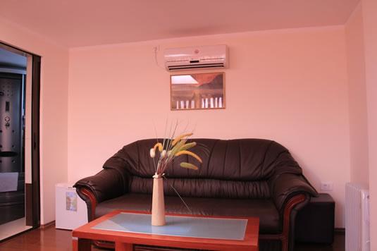 Interior camera pensiune