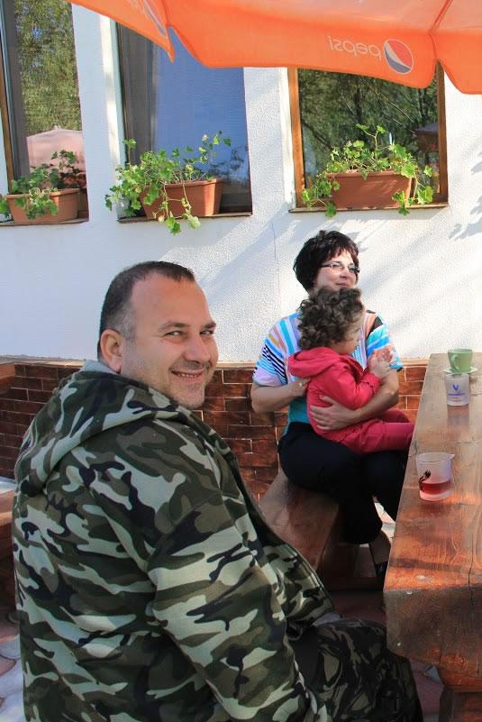Turisti la pensiunea Prodelta